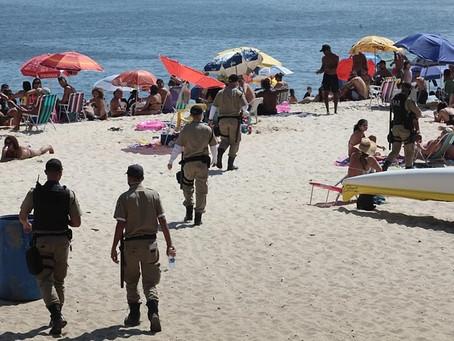 Fim de semana em Niterói será de sol, calor e bloqueio em Camboinhas