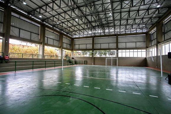Caramujo tem parque esportivo