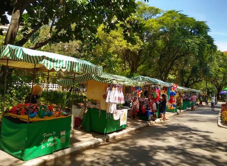 Feira de artesanato do Campo de São Bento reabre em outubro