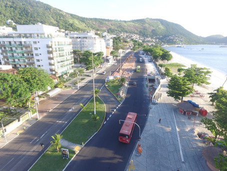 Prefeitura de Niterói abre consulta pública sobre obras na orla de Charitas