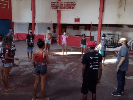 OCA: cultura e arte contra a violência, no Viradouro