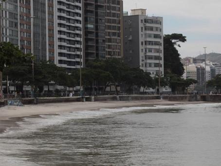 Frente fria deixa o Dia dos Namorados friozinho e chuvoso em Niterói