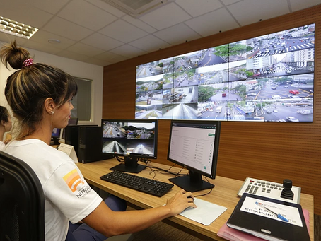 Câmeras de segurança de Niterói serão usadas para multar motoristas infratores