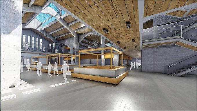 Novo Mercado Municipal de Niterói terá lojas de 8 a 140 metros quadrados