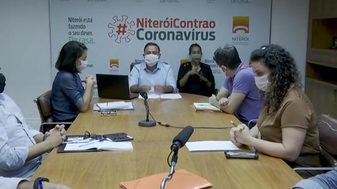 Niterói volta a registrar oscilação positiva na taxa sobre situação da Covid