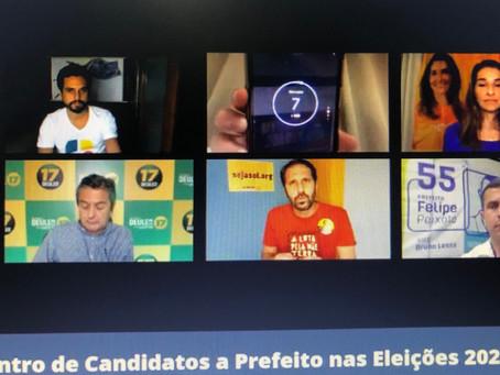 Em debate, candidatos a Prefeito de Niterói atacam desigualdade