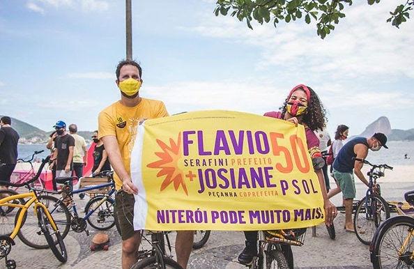 Flávio Serafini: 'Estou otimista e espero estar no 2º turno em Niterói'