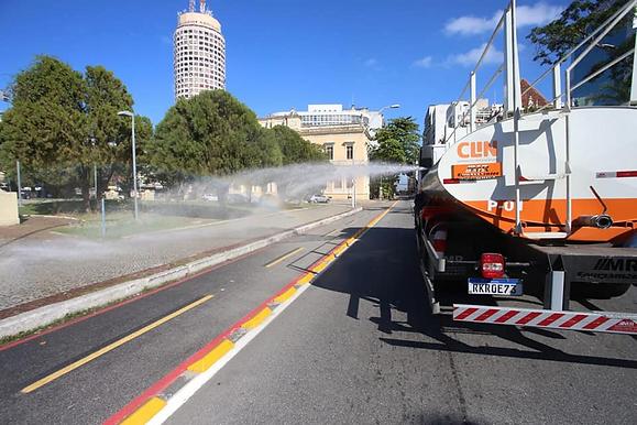 Prefeitura retoma trabalho de sanitização em Niterói