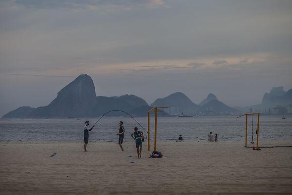 Atletas de Niterói treinam na pandemia com cuidados