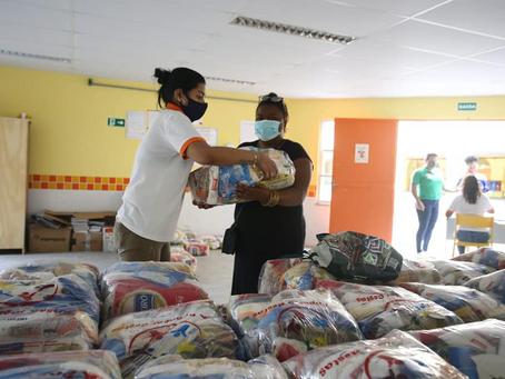 Distribuição de cestas básicas em Niterói; veja o calendário e os locais de entrega