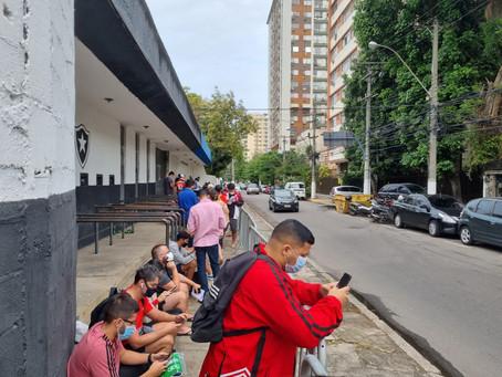 Niterói vai comparecer em peso a jogo no Maracanã, que exige vacina e teste