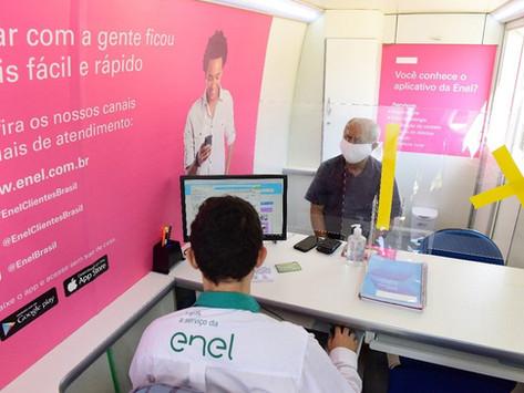 Feirão da Enel oferece desconto e parcelamento de dívidas neste sábado