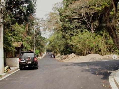 Obras de drenagem e pavimentação são concluídas em Pendotiba