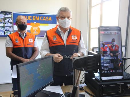 Axel Grael critica omissão da Prefeitura de São Gonçalo no combate à Covid