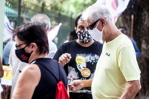 Apesar da pandemia, eleitores de Niterói decidem comparecer às urnas
