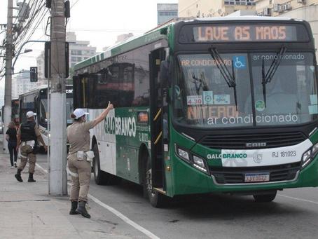 Icaraí: Fiscalização é intensificada nos ônibus de Niterói com medição de temperatura