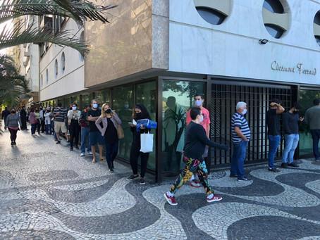 Ainda não acabou: número de novos casos em Niterói permanece em torno de 100 por dia
