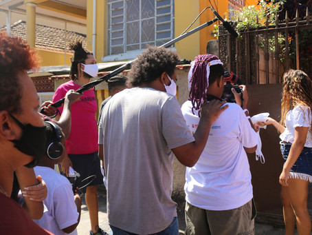 Jovens de Unidades de Acolhimento de Niterói exibem filme em Mostra de Cinema no Teatro Popular