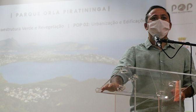 Começam as obras do Parque Orla Piratininga