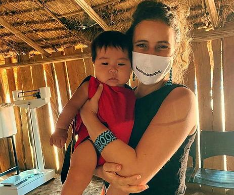 Médica de Niterói relata como tem sido o enfrentamento da Covid-19 em aldeia no Xingu