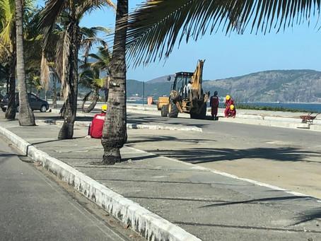 Prefeitura descumpre acordo, e obras em Piratininga continuam