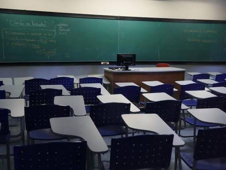 Escolas terão atividades remotas e ensino on line até 2021