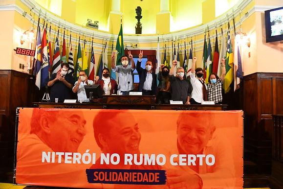 Solidariedade oficializa Paulo Bagueira como vice de Axel Grael