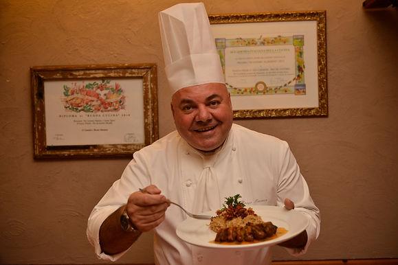 Chef Bruno Marasco fala dos seus 21 anos de trajetória no Da Carmine