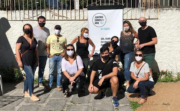 Arquitetos constróem projeto de solidariedade