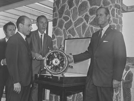 Príncipe Philip, marido da rainha da Inglaterra, morto aos 99 anos, visitou Niterói
