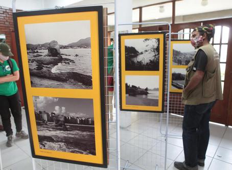 Niterói ontem e hoje, em exposição no Parque da Cidade