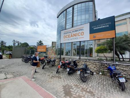 Comissão de Saúde da Câmara tenta vistoriar hospitais  de Covid em Niterói