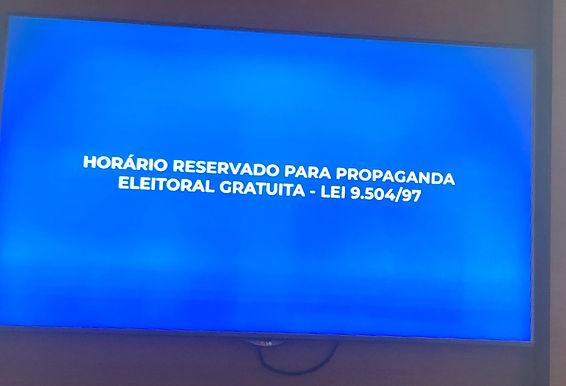 Programa eleitoral na TV em Niterói começa com problemas técnicos