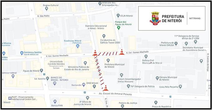 Veja as alterações no trânsito para o domingo de eleições em Niterói