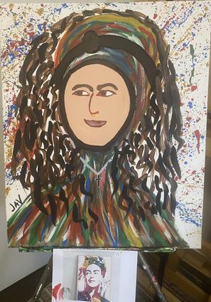 Lucy via Portrait Frida Rainbow