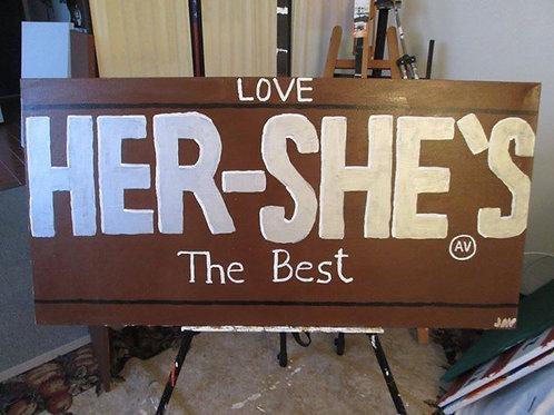 HERSHE'S