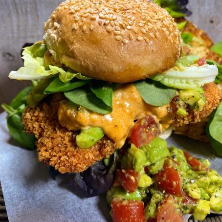 Crispy Chicken Burgers