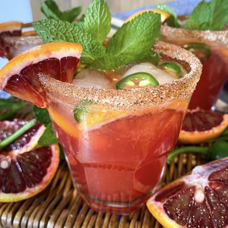 Spicy Ippolito Orange Margarita
