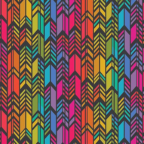 Rainbow Feather - Night