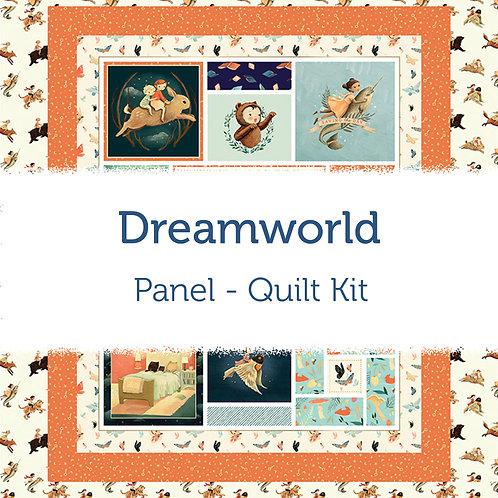 Dreamworld Panel Quilt Kit
