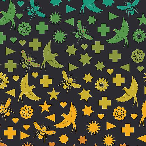 Seventy Six Bird & Bee - Night
