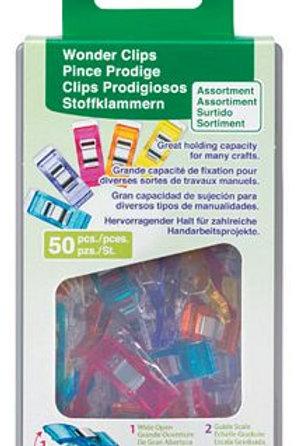Wonder Clips Asst Colors 50 pc