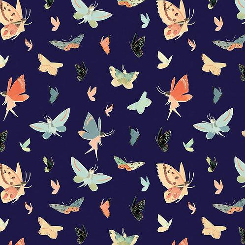 Butterflies - Navy
