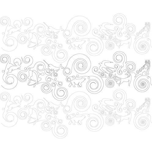 Swirls, Loops, and Animals (Print)