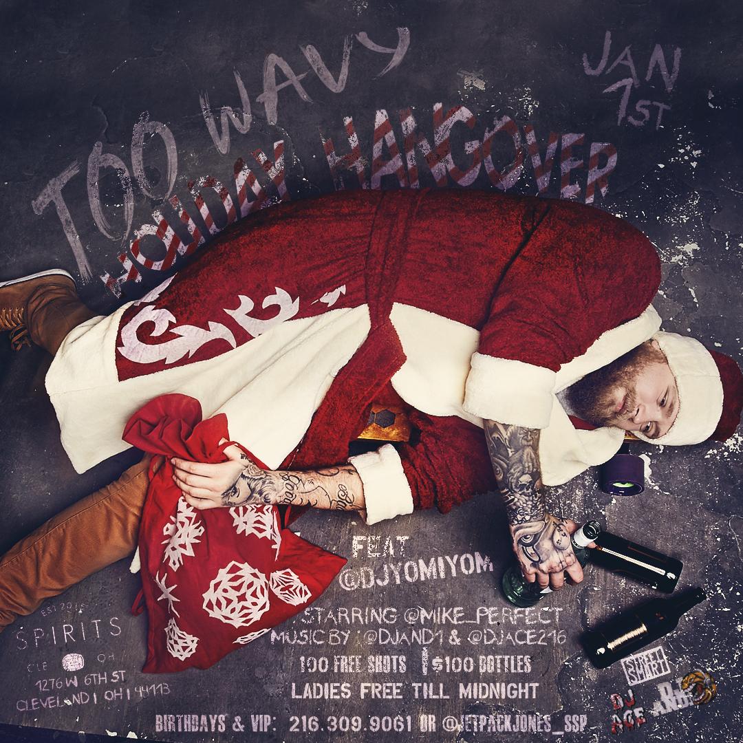 Holiday Hangover Flyer