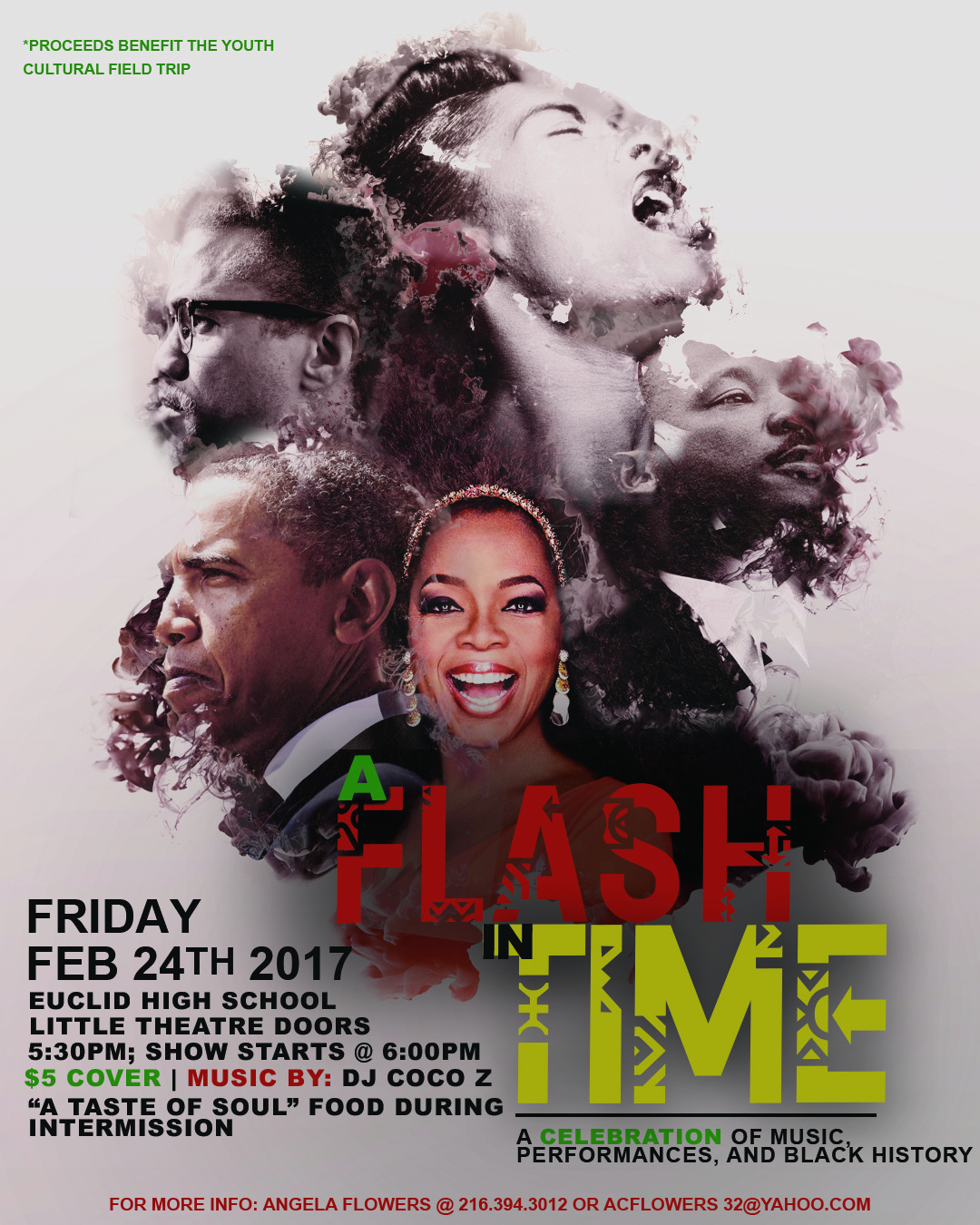 Flash In Time Flyer