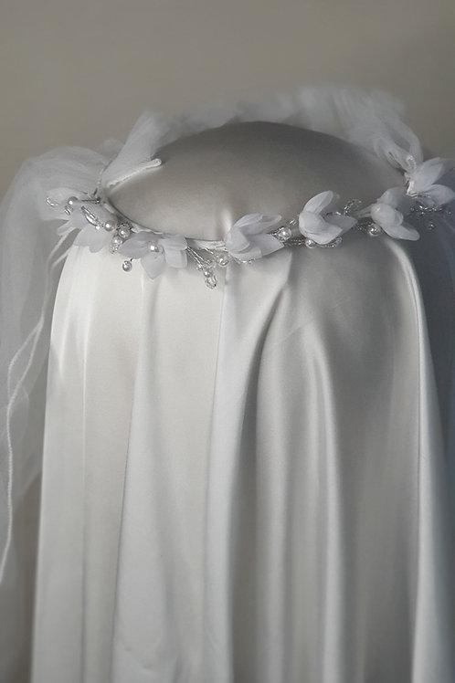 Girls White Holy Communion Veil