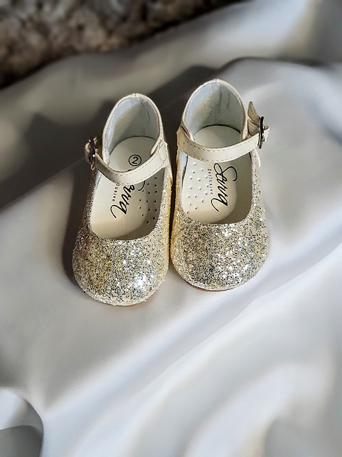 Baby Girls Ivory Party Shoes