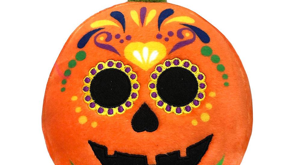 Sugar Skull Pumpkin by Lulubelles Power Plush