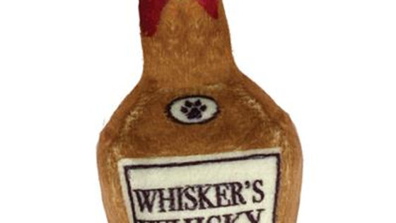 """3.5"""" Whisker's Whisky Plush Booze Toy by Kittybelles"""